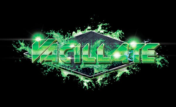 DJ Vacillate Logo Design Hulk Green Edition