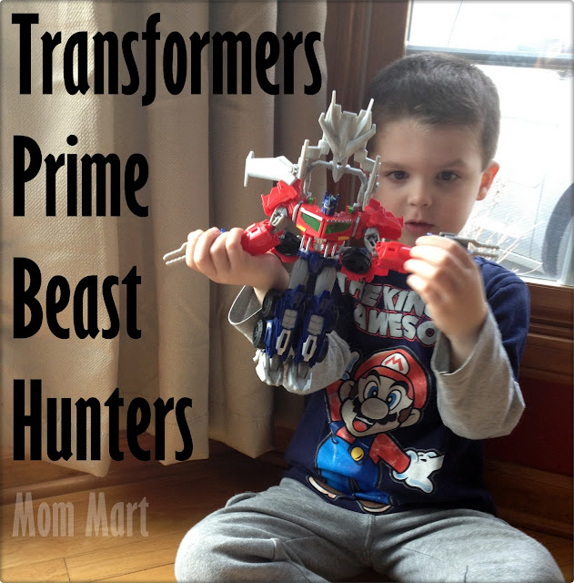 Optimus Prime Transformers Prime Beast Hunters Voyager Class Figure