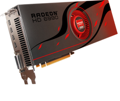 NVIDIA vs AMD - Clash of the GPUs : AMD Radeon HD 6990 graphics card