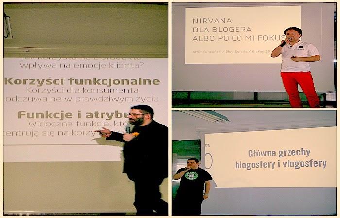 Obraz: Paweł Tkaczyk, Artur Kurasiński i  Maciek Budzich na #BlogExperts