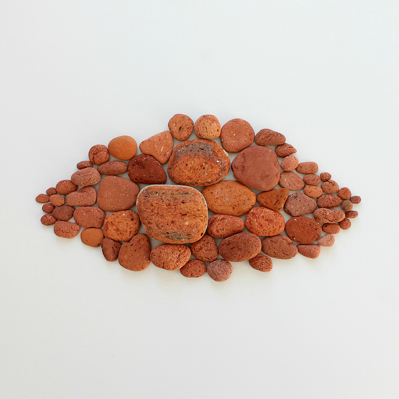 collected treasures - brick stones