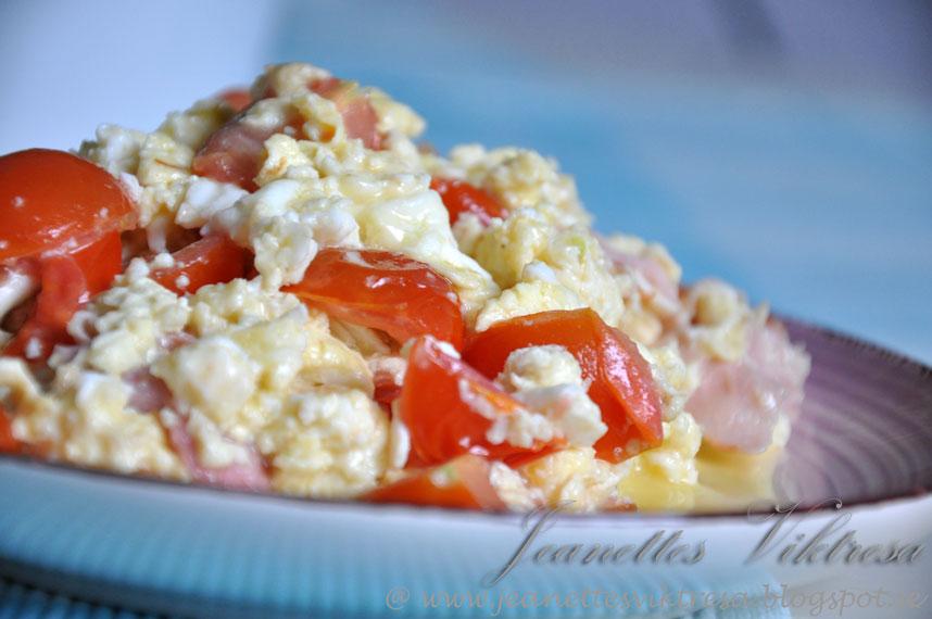 Bildresultat för äggröra skinka