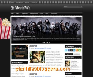plantilla para blogger MovieWp