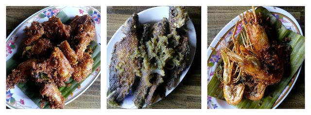 Hidangan Ayam Kampung, Ikan Sungai, Udang Galah