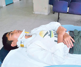 Pelajar dakwa dipukul guru hingga pengsan