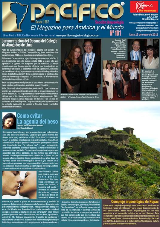 Revista Pacífico Nº 101 Arqueología