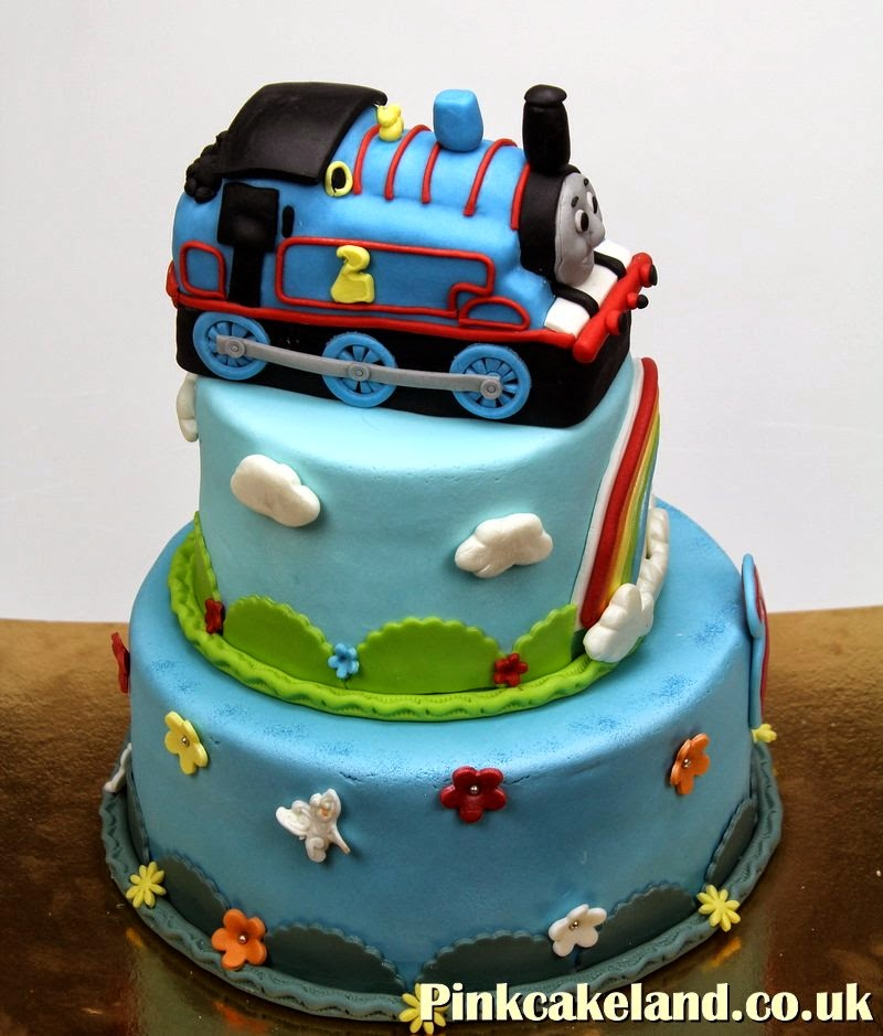 Thomas the Tank Engine and Friends Birthday Cake Surrey