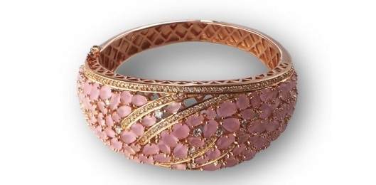 Tomas Colomer - The Shopping Night Barcelona - 2013 - BRAZALETE ORO ROSA