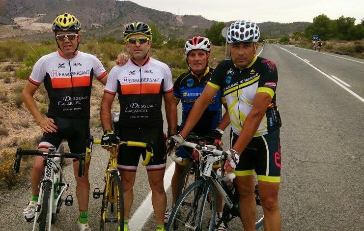 Parraga y Lacarcel con el CC Cobatillas