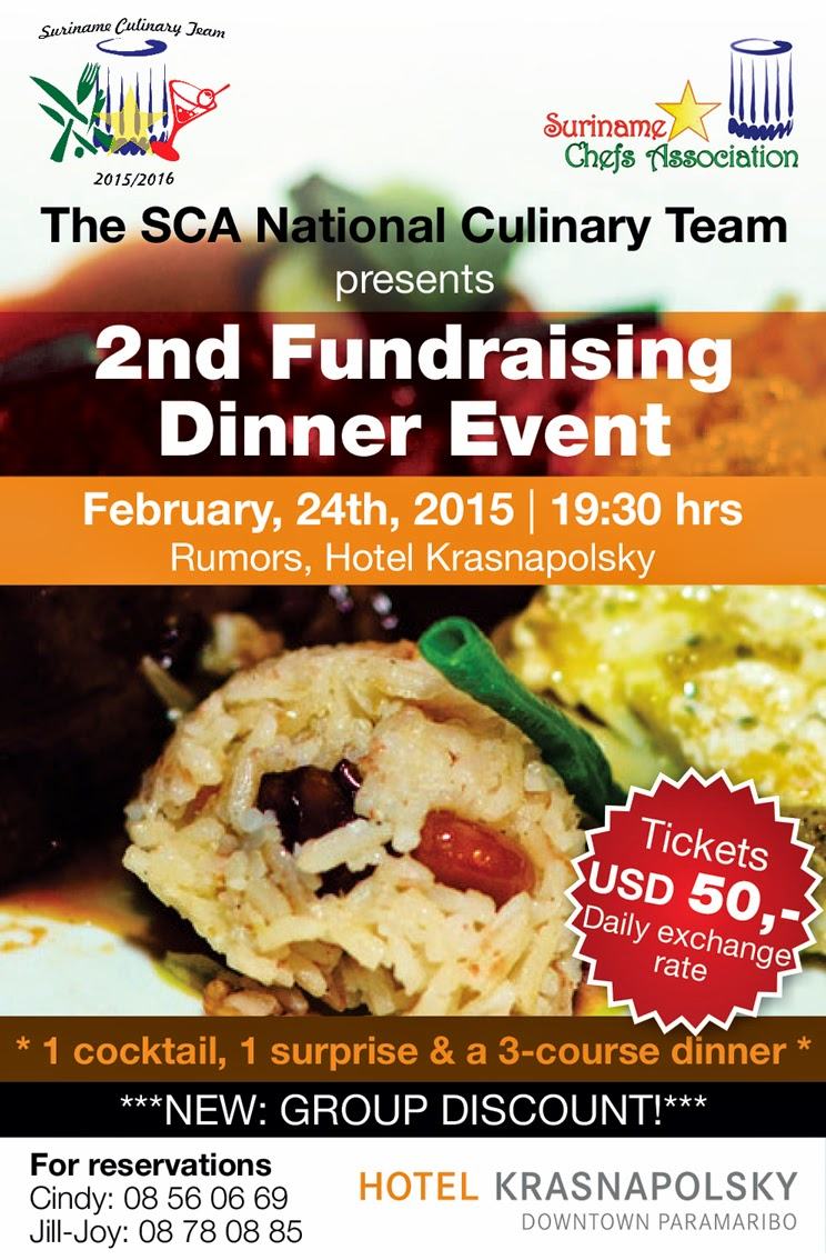 2nd Fundraising Dinner Event