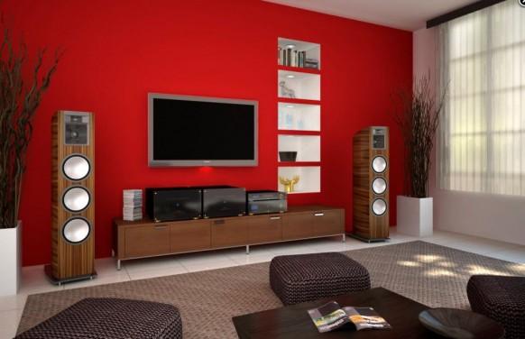 Sala De Estar Moderna Com Tv ~ que estas fotos de salas de estar con tv estilo moderno te sirvan de
