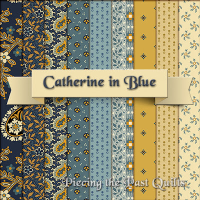 Catherine Blue Colorway