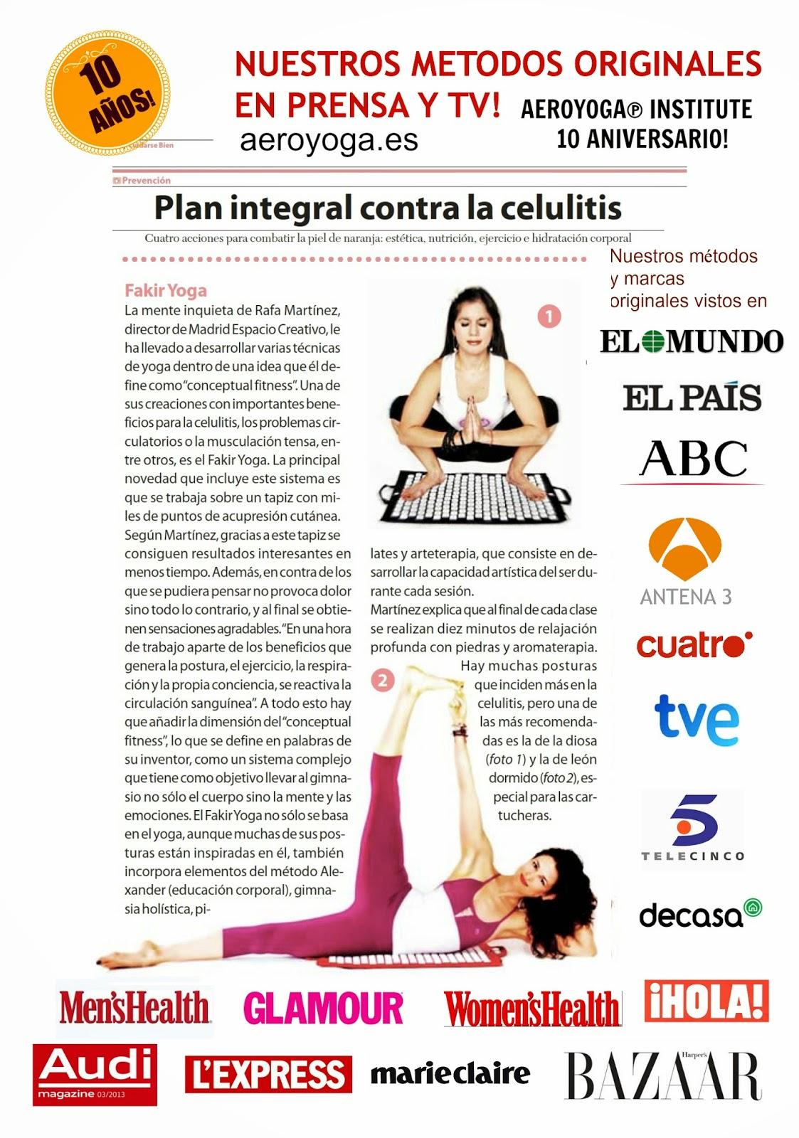 ayurveda yoga aereo anti age aerial pilates prensa tendencias belleza ejercicio