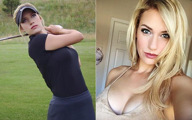 Paige Spiranac lleva la polémica al mundo del golf