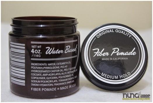 Admiral Fiber Pomade - Medium Hold Pomade - Water Based Pomade