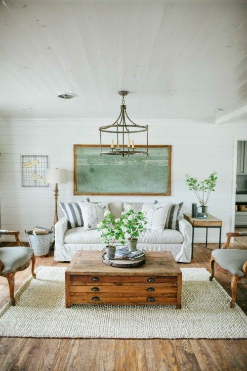 Jessica stout design as seen on the fixer upper the for Fixer upper living room designs