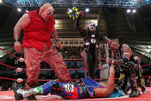 Psycho Clown fulminado