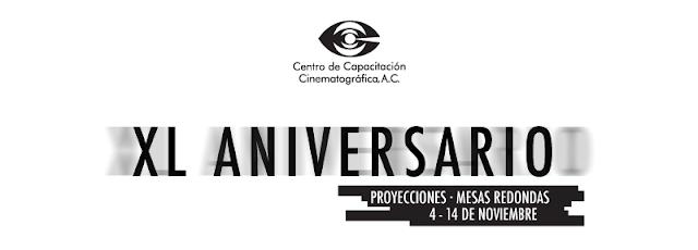 Actividades por el 40 aniversario del Centro de Capacitación Cinematográfica