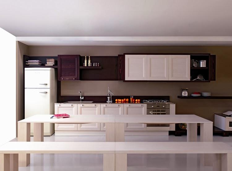 interior dapur gaya itali