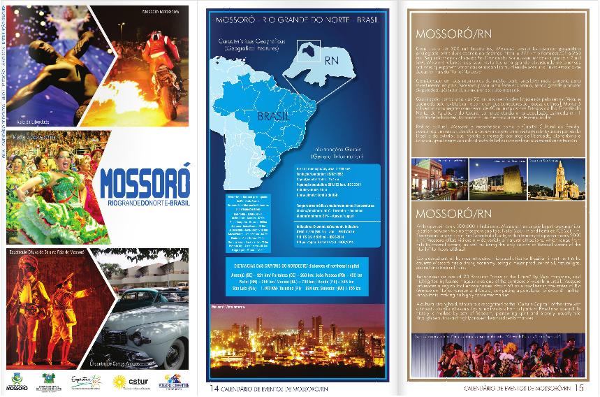 Calendário de Eventos Turísticos