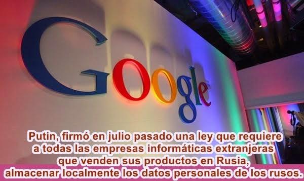MUNDO: Google traslada a parte de su plantilla fuera de Rusia
