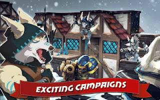 Game Lionheart Tactics MOD APK New Version
