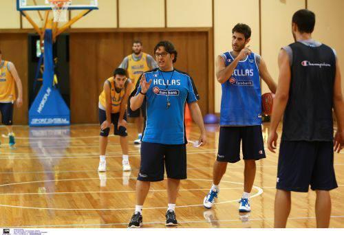 Φωτορεπορτάζ από την πέμπτη μέρα προπόνησης της Εθνικής Ανδρών στο Καρπενήσι