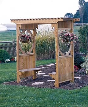 Arbor With Benches5