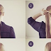 Tutorial To Get Brisk Braid Wrap Hairstyle At Home