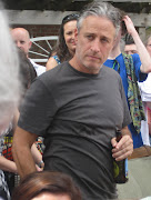 Nothing like a backyard barbecuewith Jon Stewart