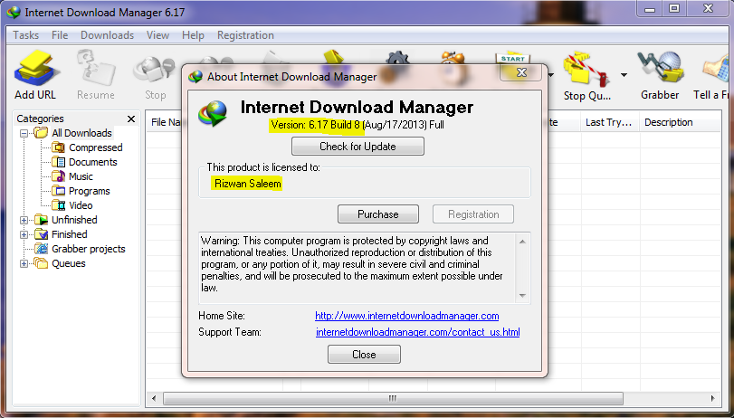 idm 6.17 build 8 full version