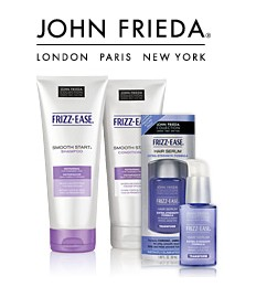 Amostra Gratis Shampoo e Condicionador Frizz Ease da John Frieda