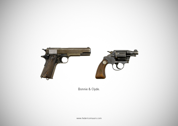 Doctor Ojiplático. Federico Mauro. Famous Guns