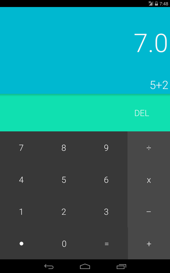 Android L Calculator