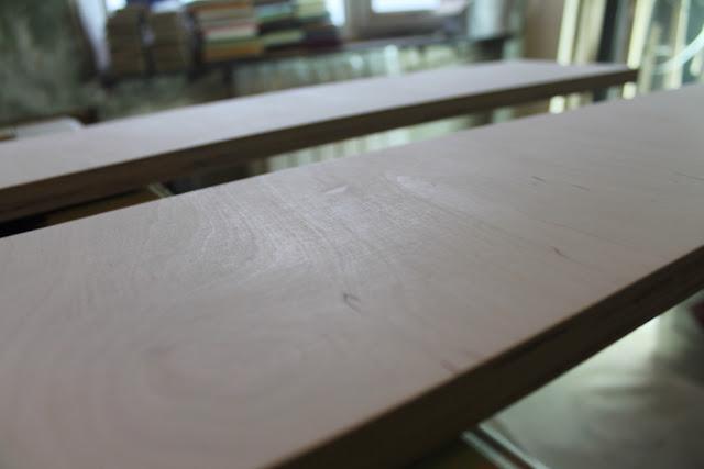 Покраска мебели своими руками Дерево в зашлифованном виде