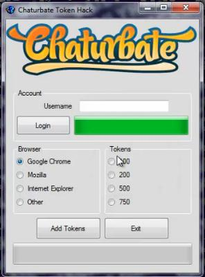 Chaturbate Tokens Hack 2013