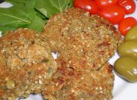 Bife de Lentilha (vegana)