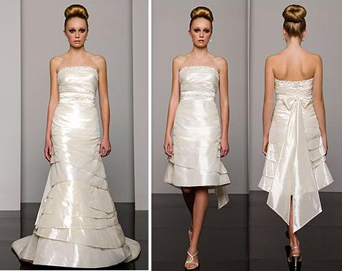 Brideindream convertible wedding dresses a good choice for you convertible wedding dresses really save a lot time and energy for the brides for they do not need to try on numerous dresses with the view to select the junglespirit Images