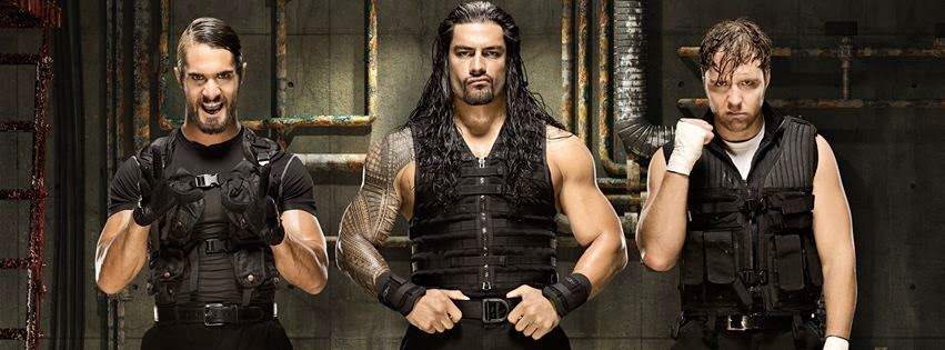 Facebook Cover Of The Shield WWE.