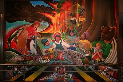 Denver airport conspiracy real or fiction for Denver airport mural conspiracy