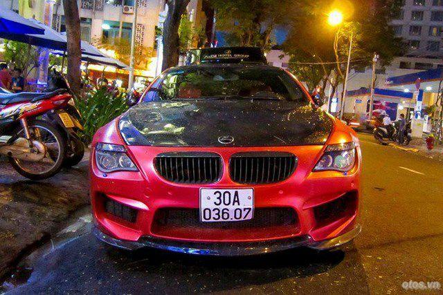 Cận cảnh xe BMW M6 độ Hamann tại TP HCM