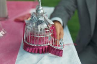 cérémonie laïque, cage alliance, mariage, photobooth, weedingblues, gris, fuschia