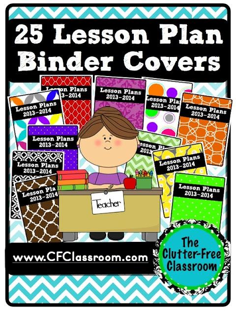Book Cover Design Lesson Plan : Creating your own teacher organization binder lesson plan
