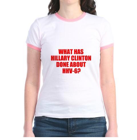 hillary clinton, hhv-6, activism,