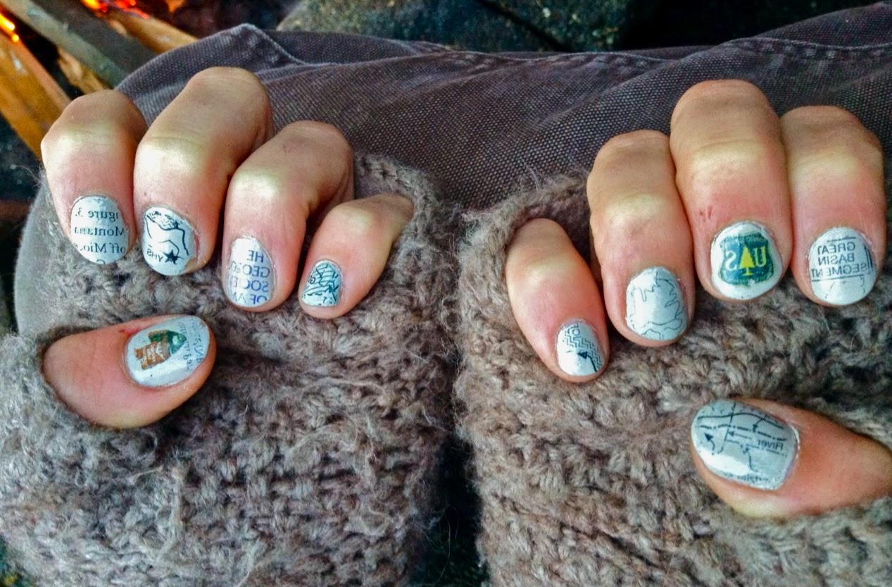 Mary Anning\'s Revenge: Geology-Inspired Nail Art