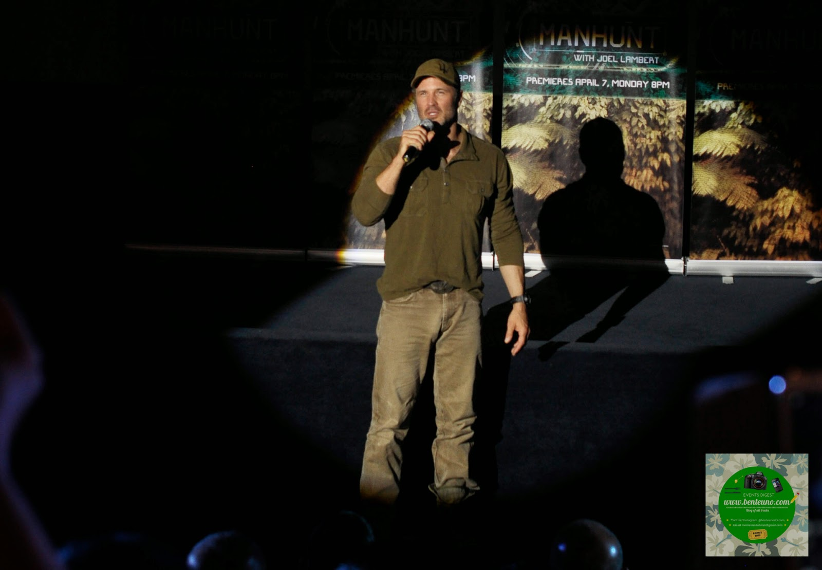 Joel Lambert, the hunted target on Discovery Channel's Manhunt