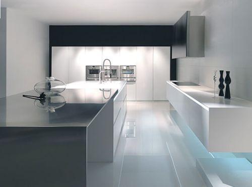 desain dapur apartemen