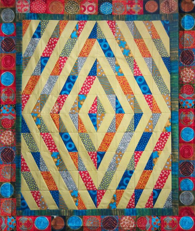 Modern Quilt Pattern - Quilting Template - BasiX - XBlocks