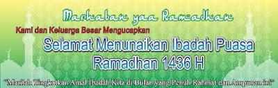 Download Spanduk Ucapan Selamat Idul Fitri 1436 H