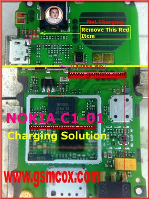 Nokia C1-01 charging not supported